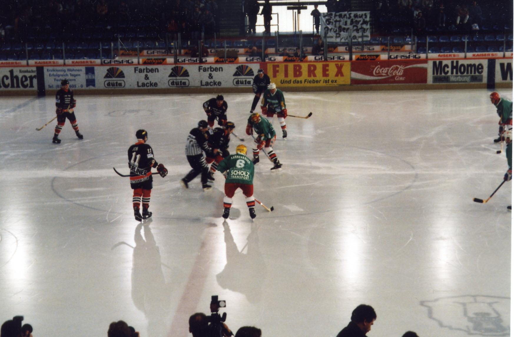 Datei nostalgiespiel eishockey berliner schlittschuhclub team ddr
