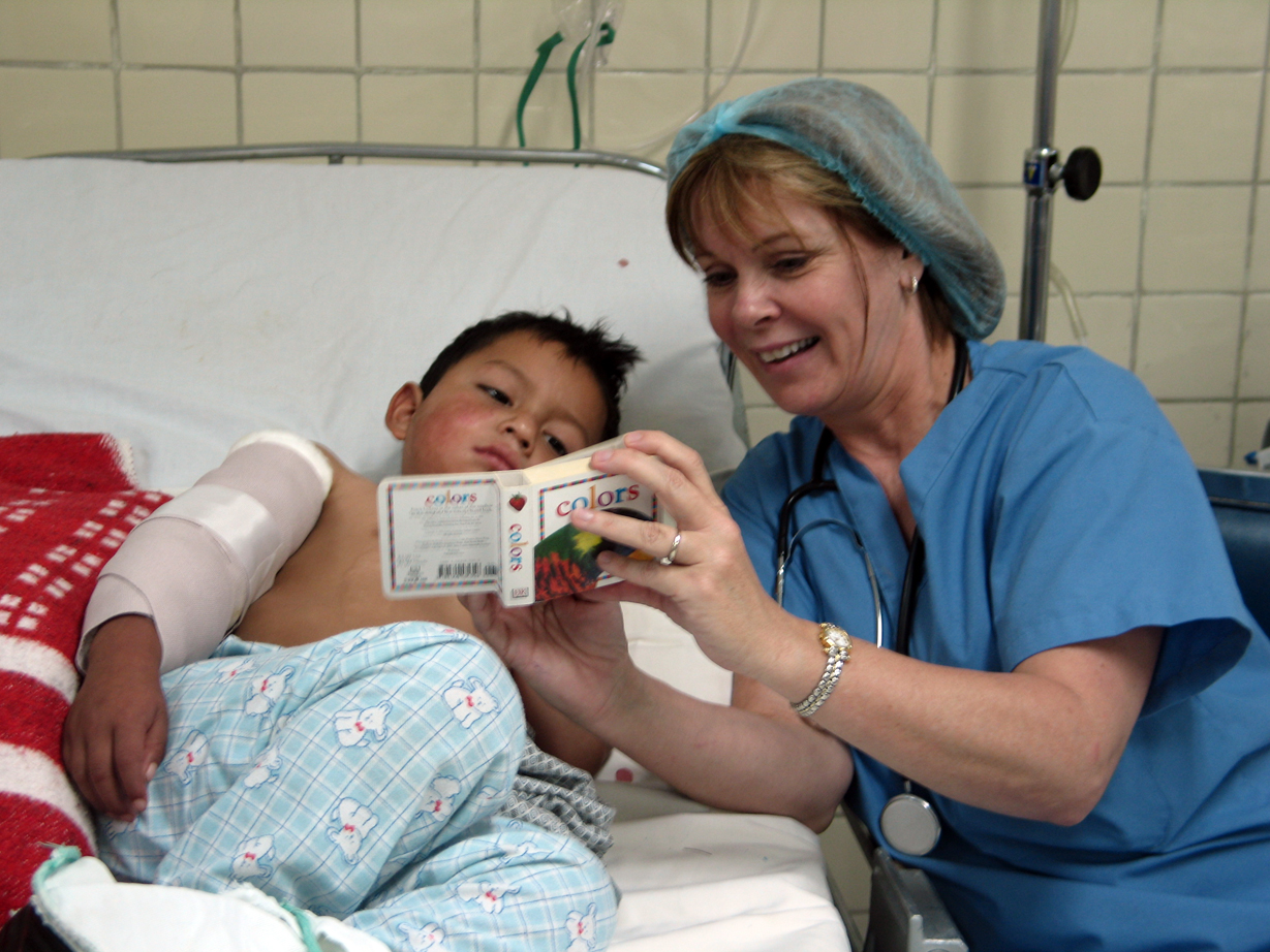 pediatric nurse writes emotional letter to parents of special