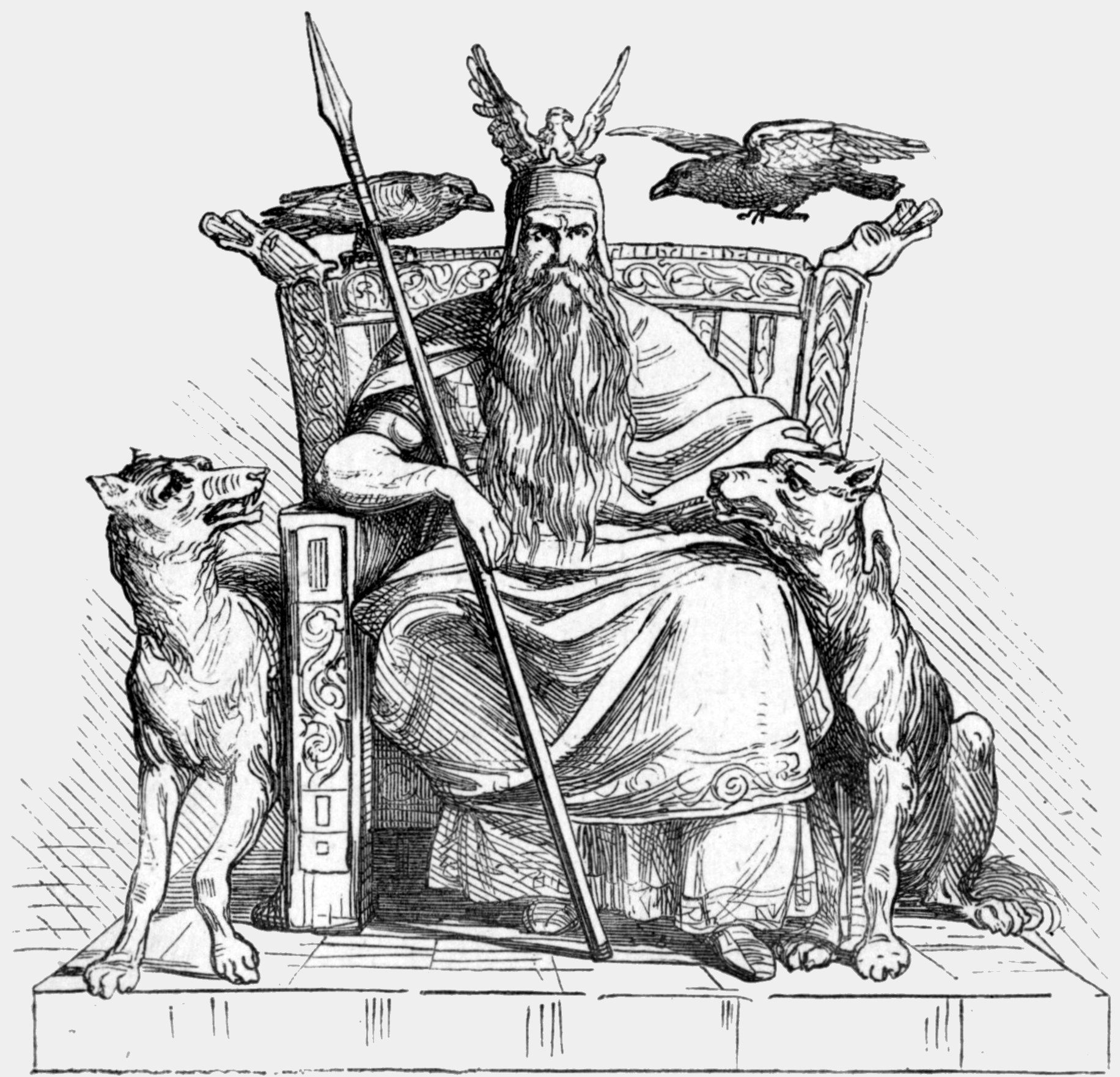 As Runas Odin_%28Manual_of_Mythology%29