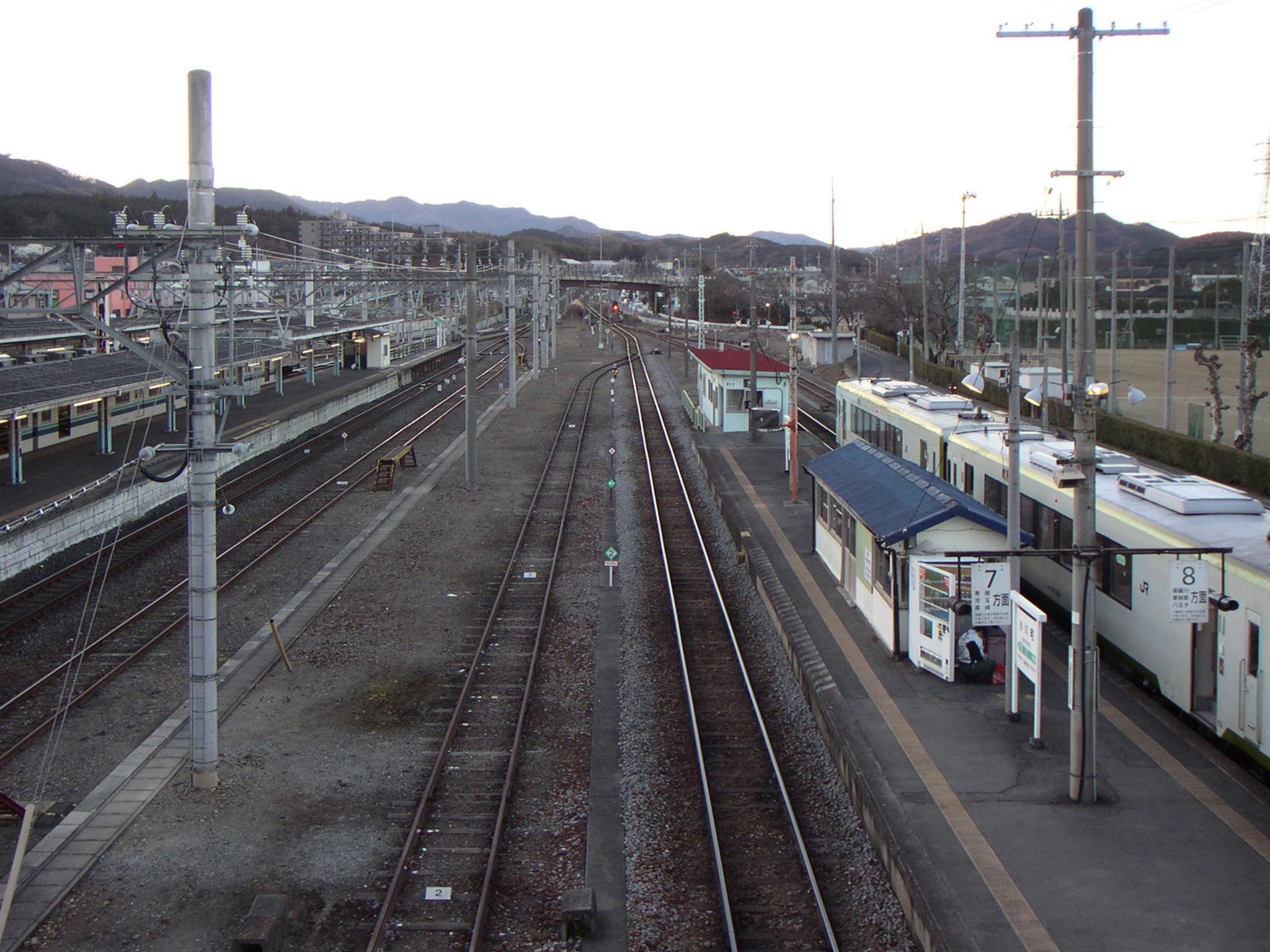 ファイル:Ogawamachi Station, Saitama.jpg - Wikipedia