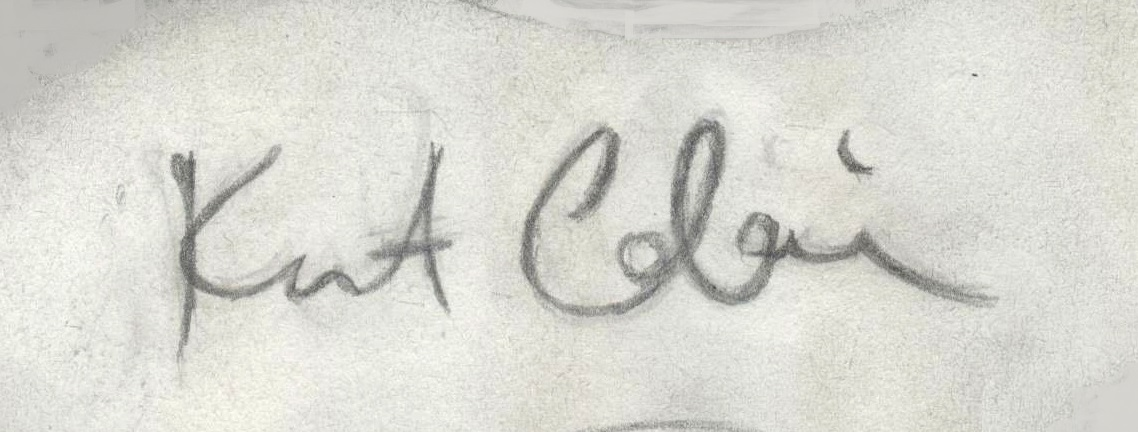 File:Oldies - Kurt Cobain signature.jpg - Wikimedia Commons