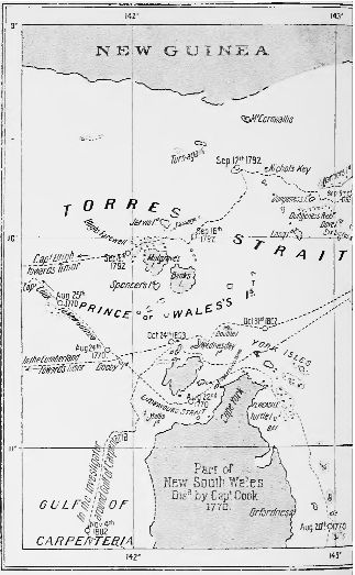 Page 345 map (The Life of Matthew Flinders).jpg