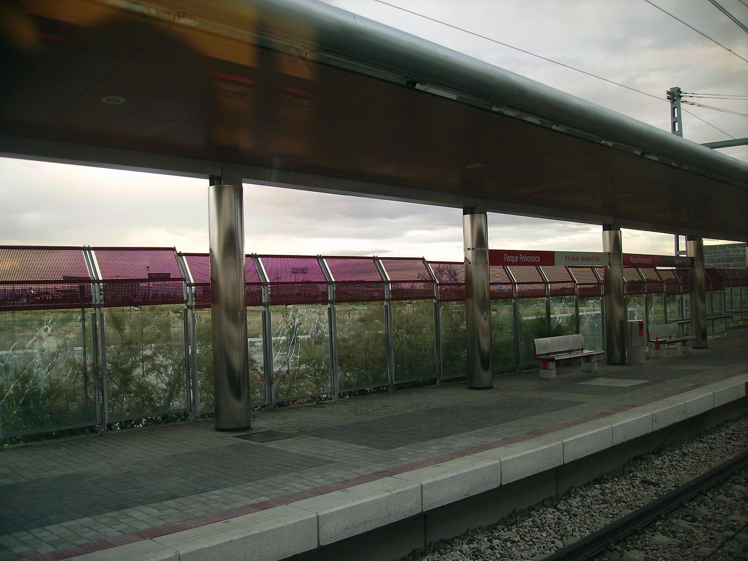 Estación de Parque Polvoranca