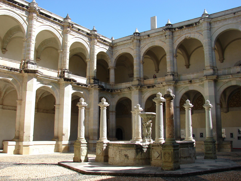 Patio del Templo de Santo Domingo de Guzman