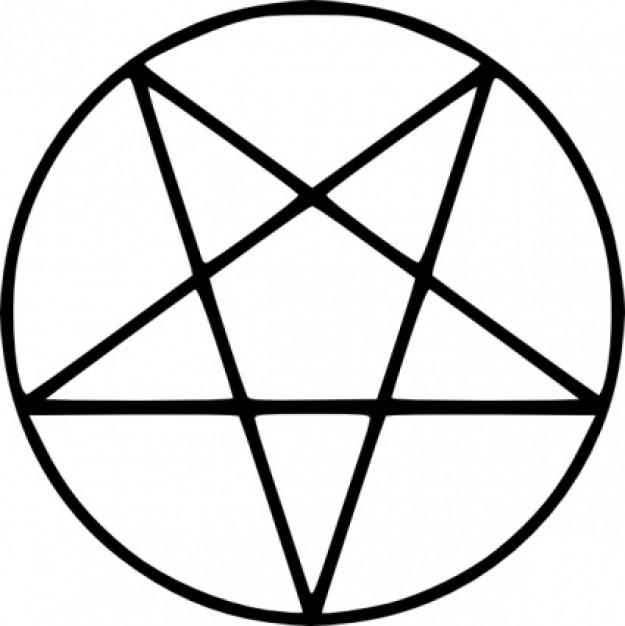 Pentagrama invertido  Wikipedia la enciclopedia libre