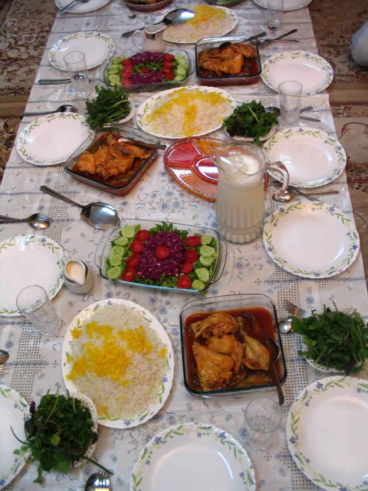 Description persian cuisine