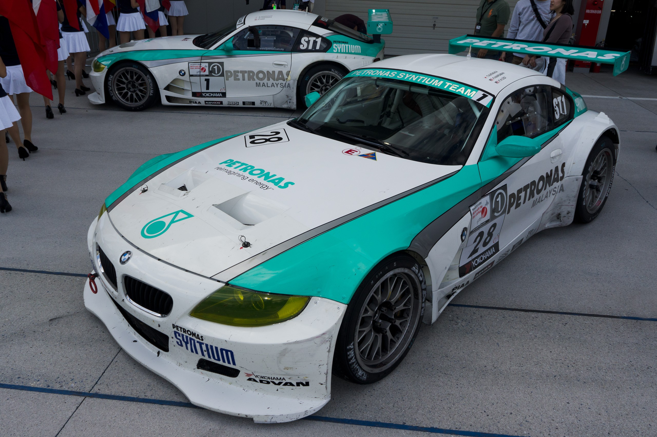 File Petronas Syntium Team Bmm Z4 M Coupe 2011 Super