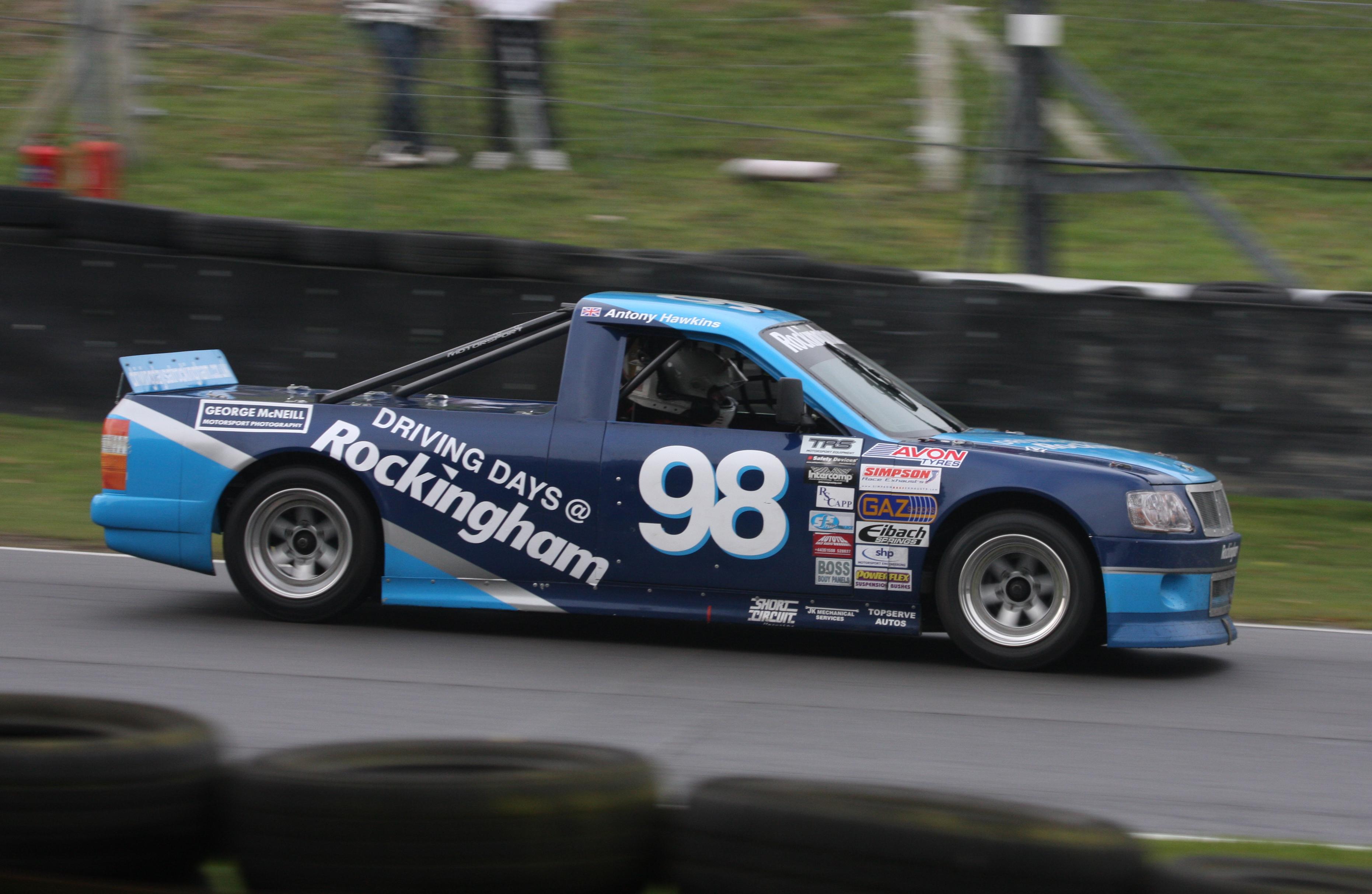 Pickup truck racing