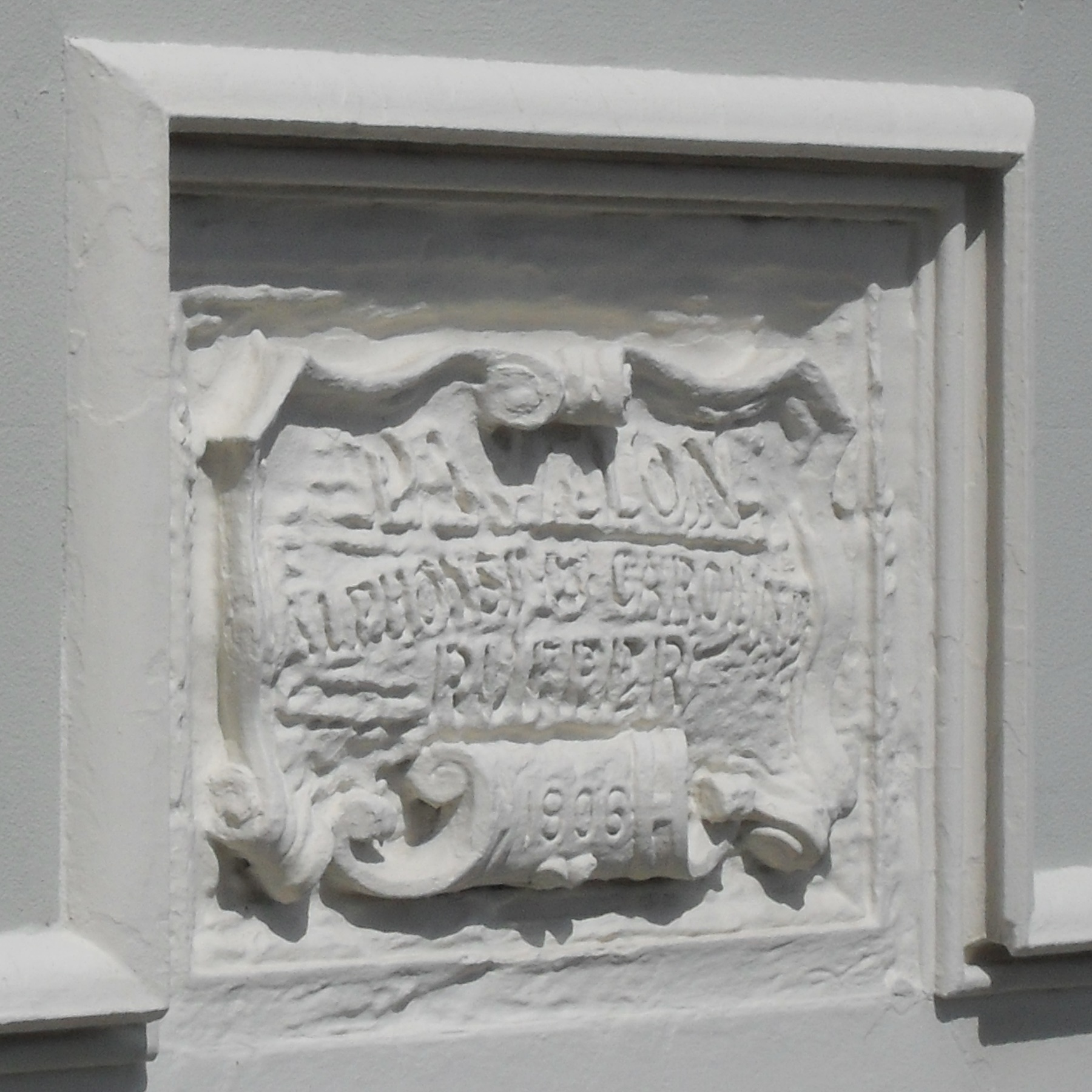 File Plaque At French Convalescent Home De Courcel Road Brighton 1