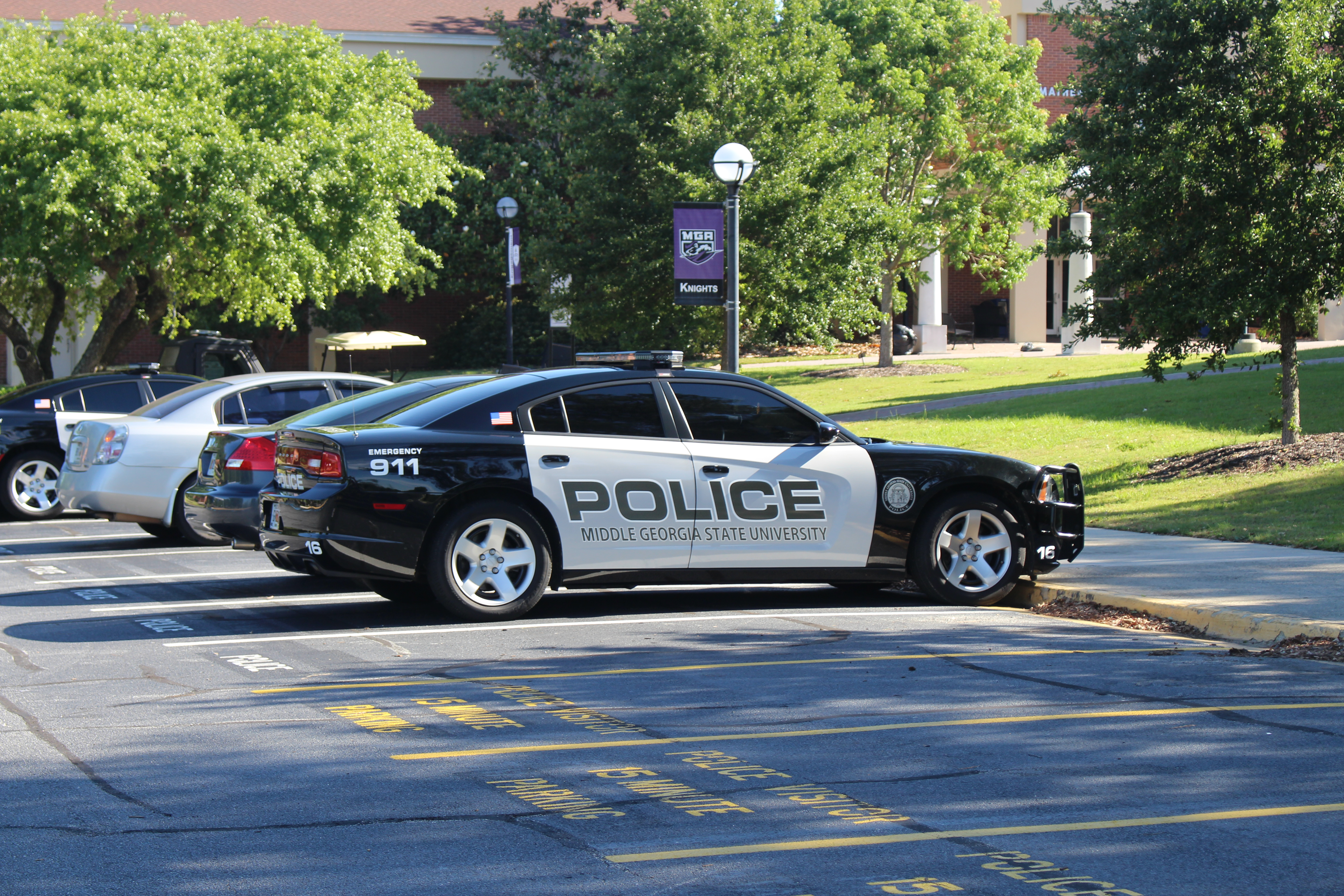 File Police car Middle Georgia State University Macon campus