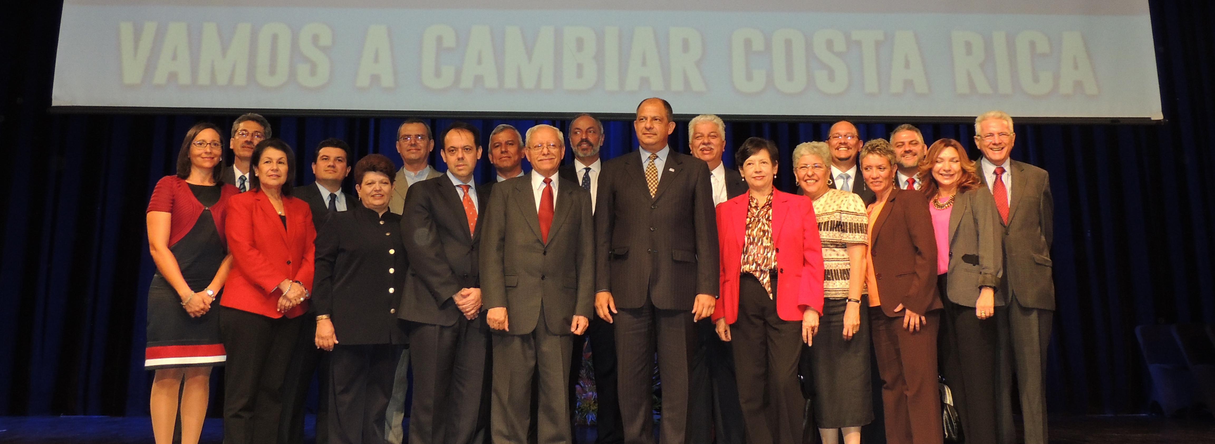 Archivo:Primera parte del gabinete de Luis Guillermo Solís.JPG ...