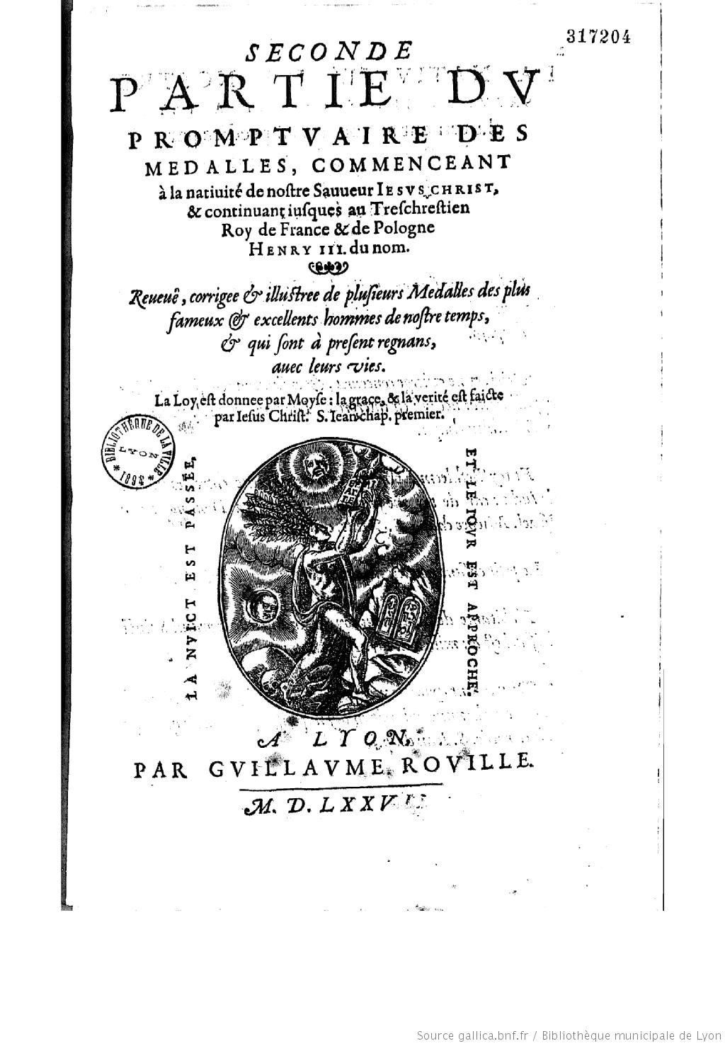 File Promptuaire Des Medailles 2nd Livre Titre