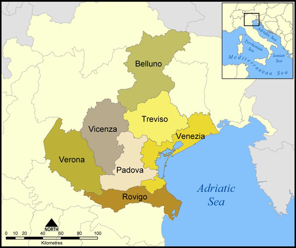 Asisbiz stock photos of Venice Veneto, northern Italy