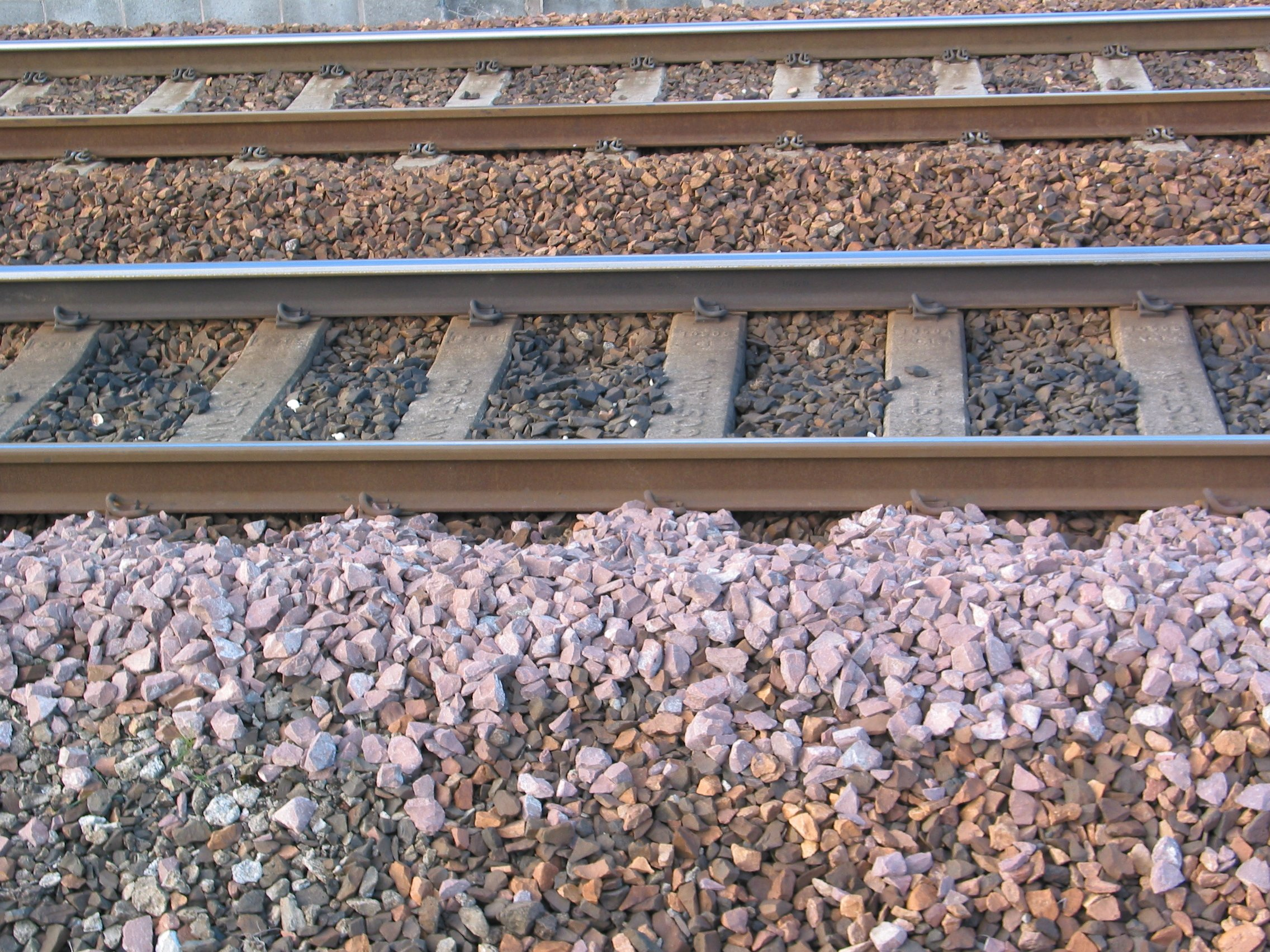 Image result for why gravels are used in railway tracks