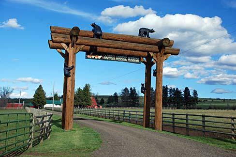 Farm House Gate Design