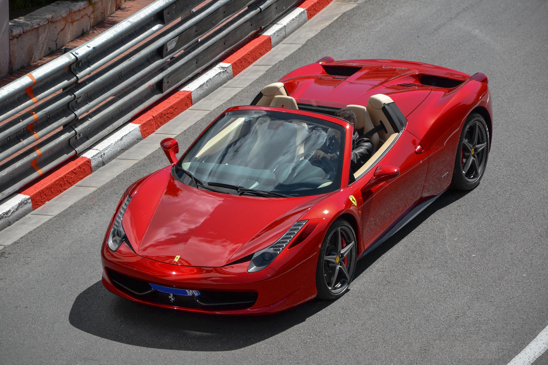 File Red Ferrari 458 Spider In Monaco 2012 Jpg Wikimedia Commons