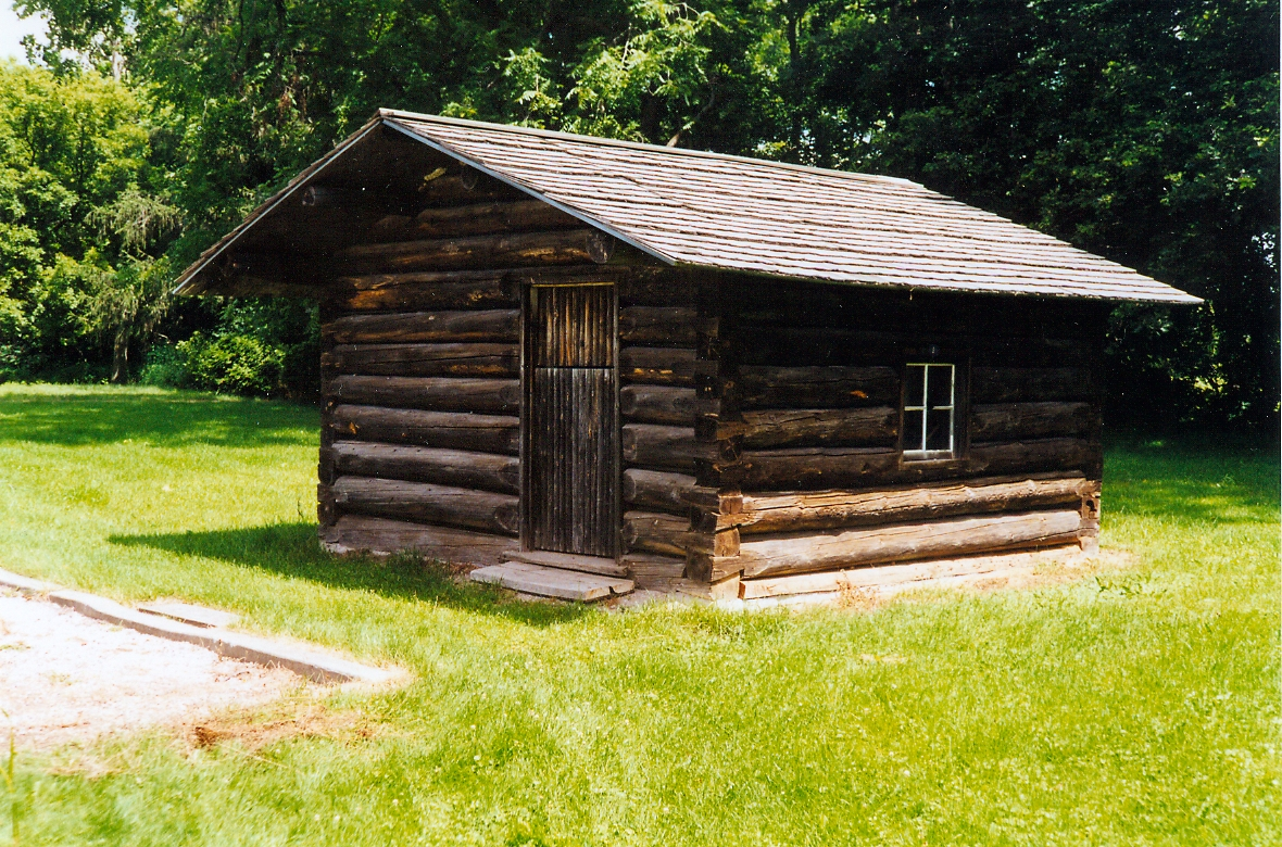 File:Replica Of An Original Cottage On The Site Of Old Fairfield, Ontario.