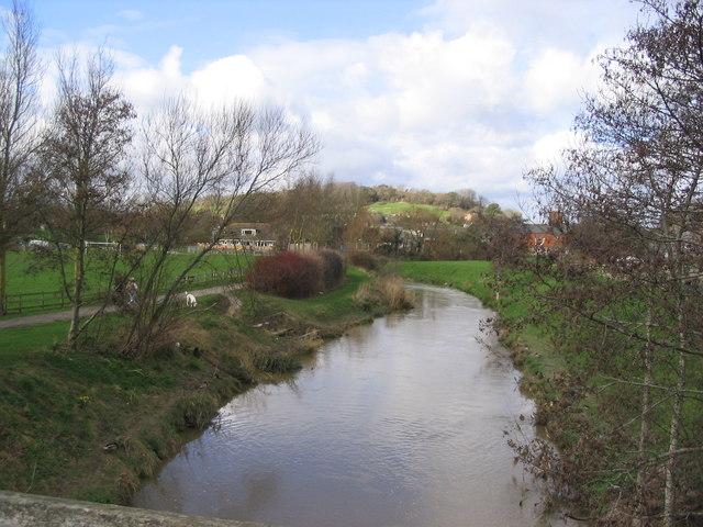 River Brit in Bridport - geograph.org.uk - 347001