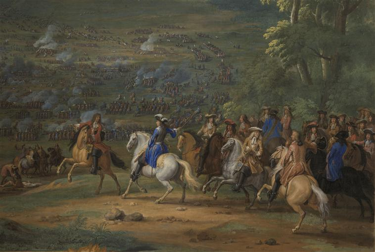 The Battle of Rocroi (1643), the symbolic end of the greatness of Spain.