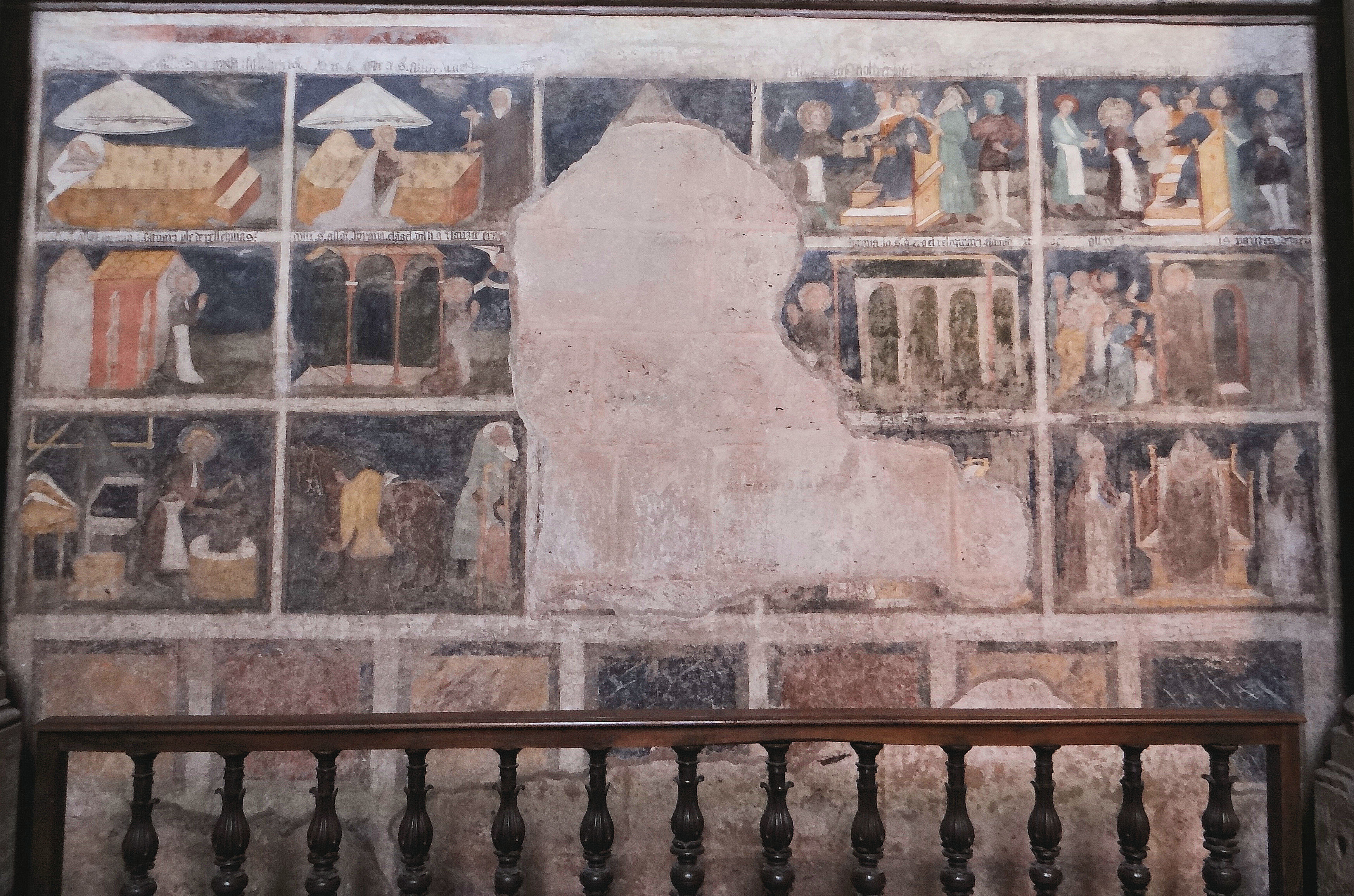 File rodez cath drale notre dame peintures murales 05 for Peintures murales
