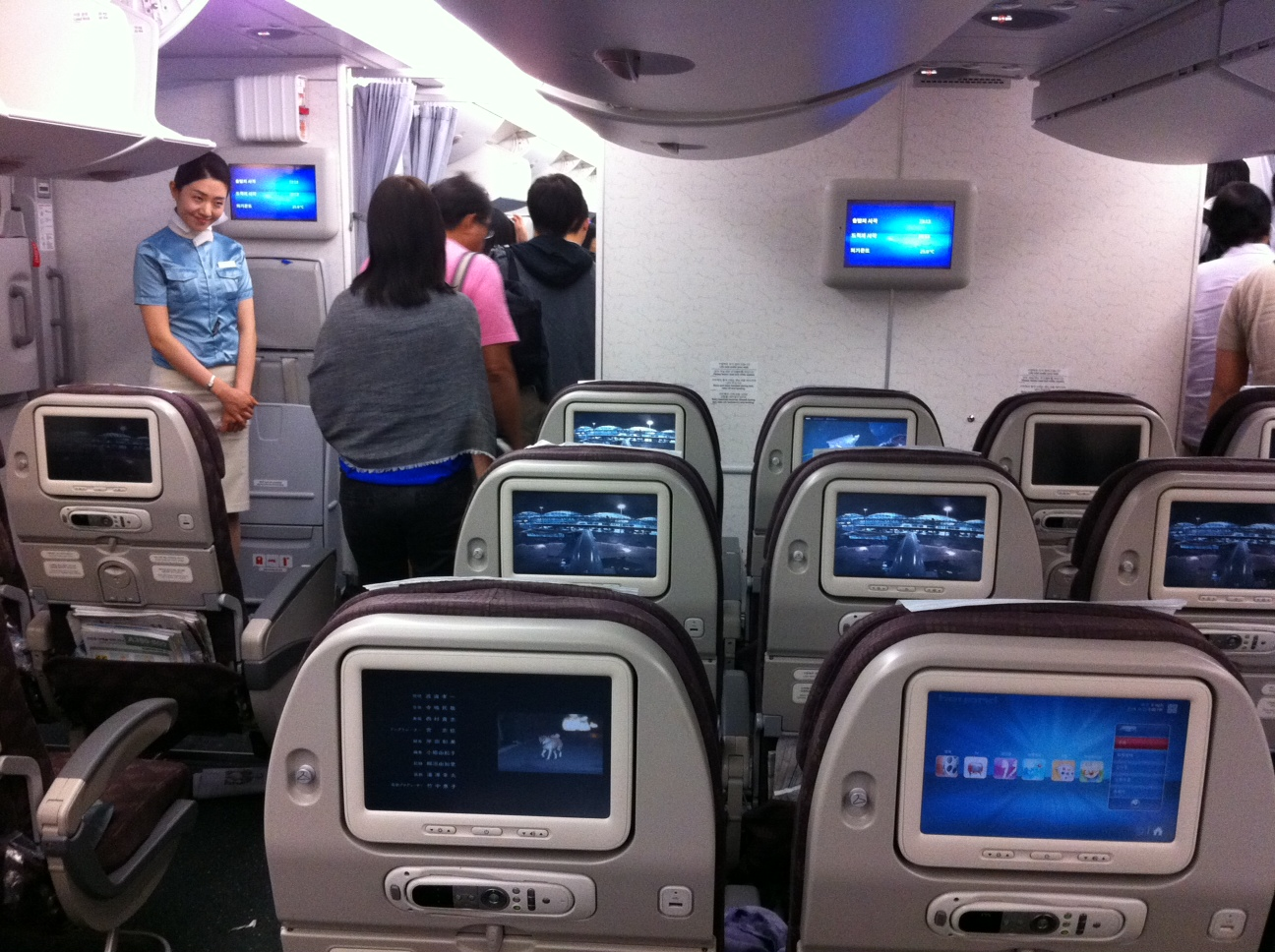 File Sk Korea Air Airbus A380 Cabin Interior Economy Class 2 Jpg