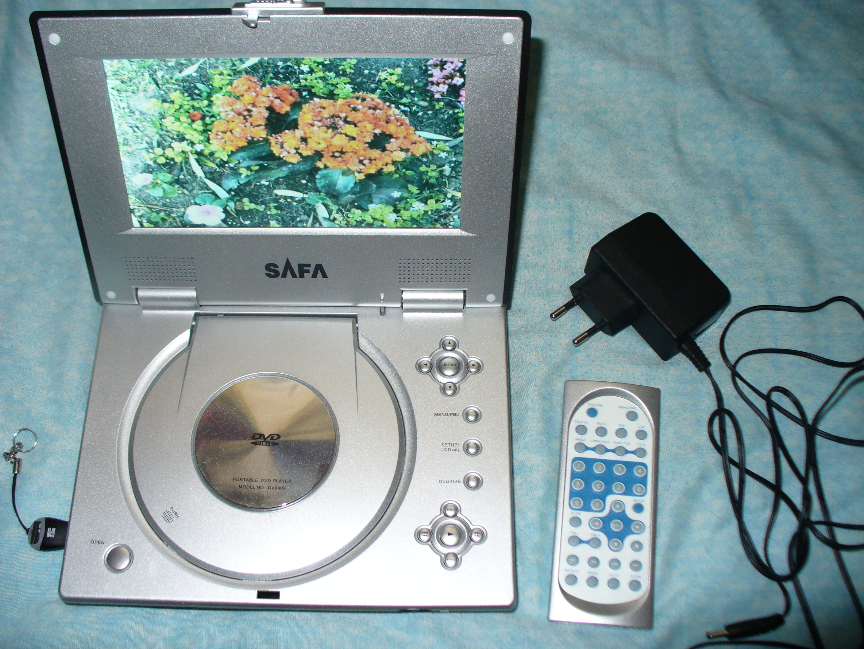 9f28971cb62 Safa dv-9805 kaasakantav DVD-mängija