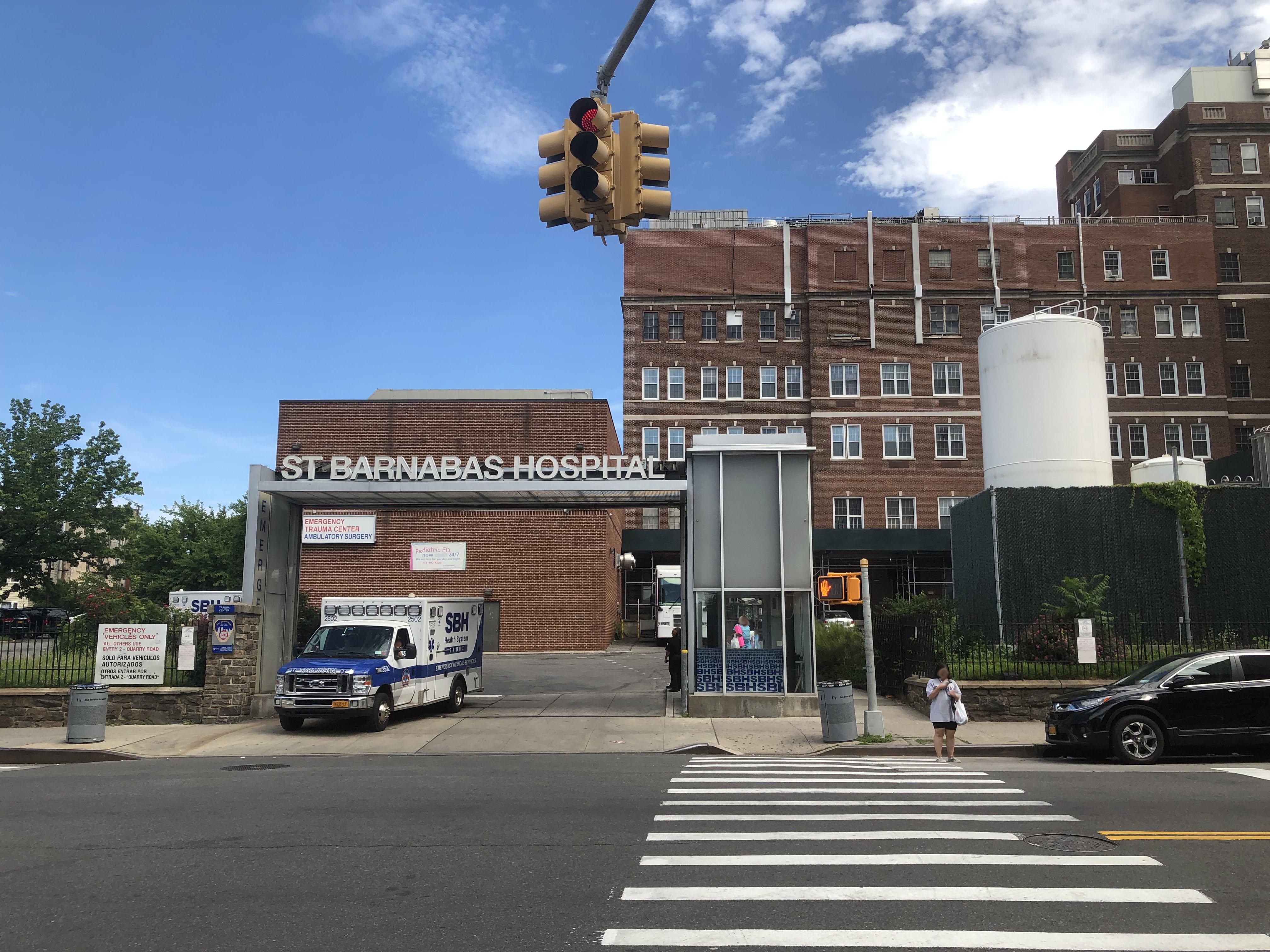 St Barnabas Hospital (Bronx) - Wikipedia