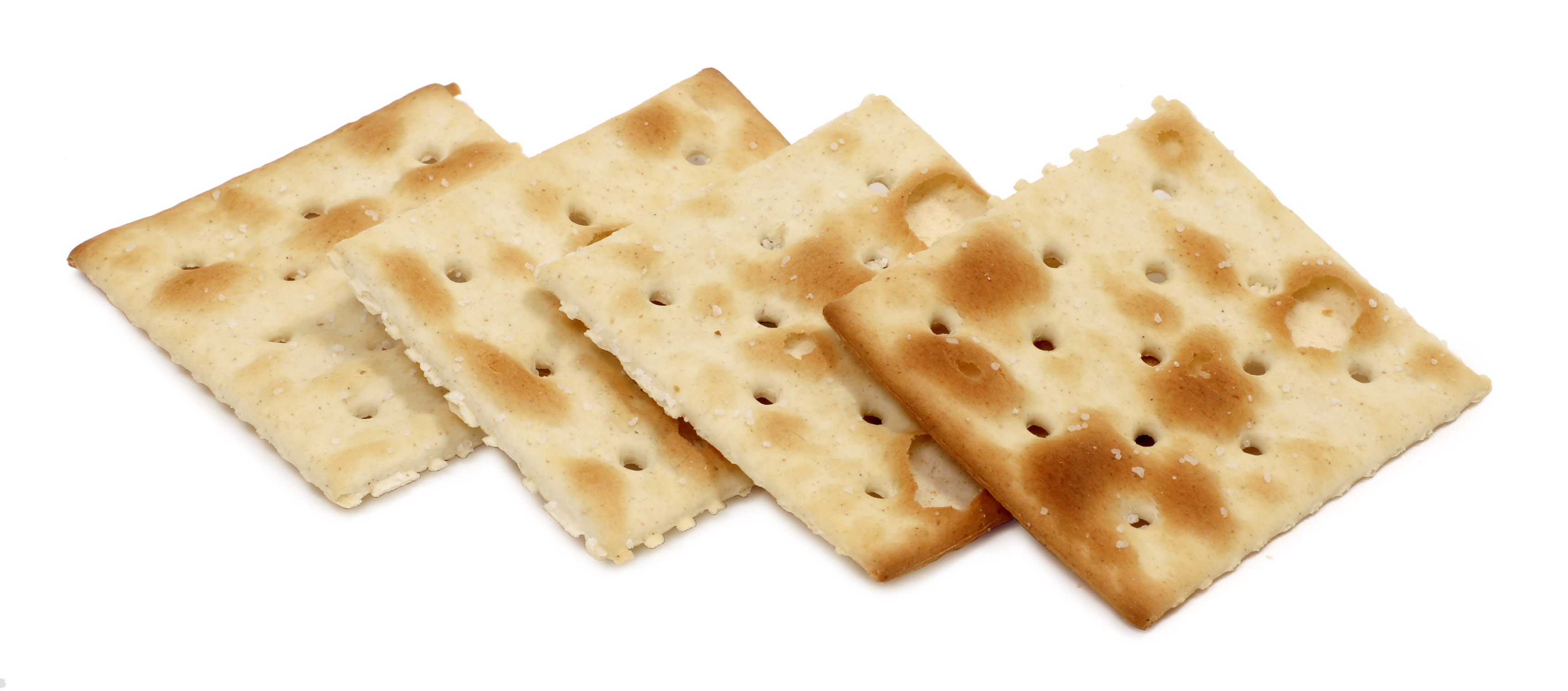 Saltine Crackers Using Natural Yeast
