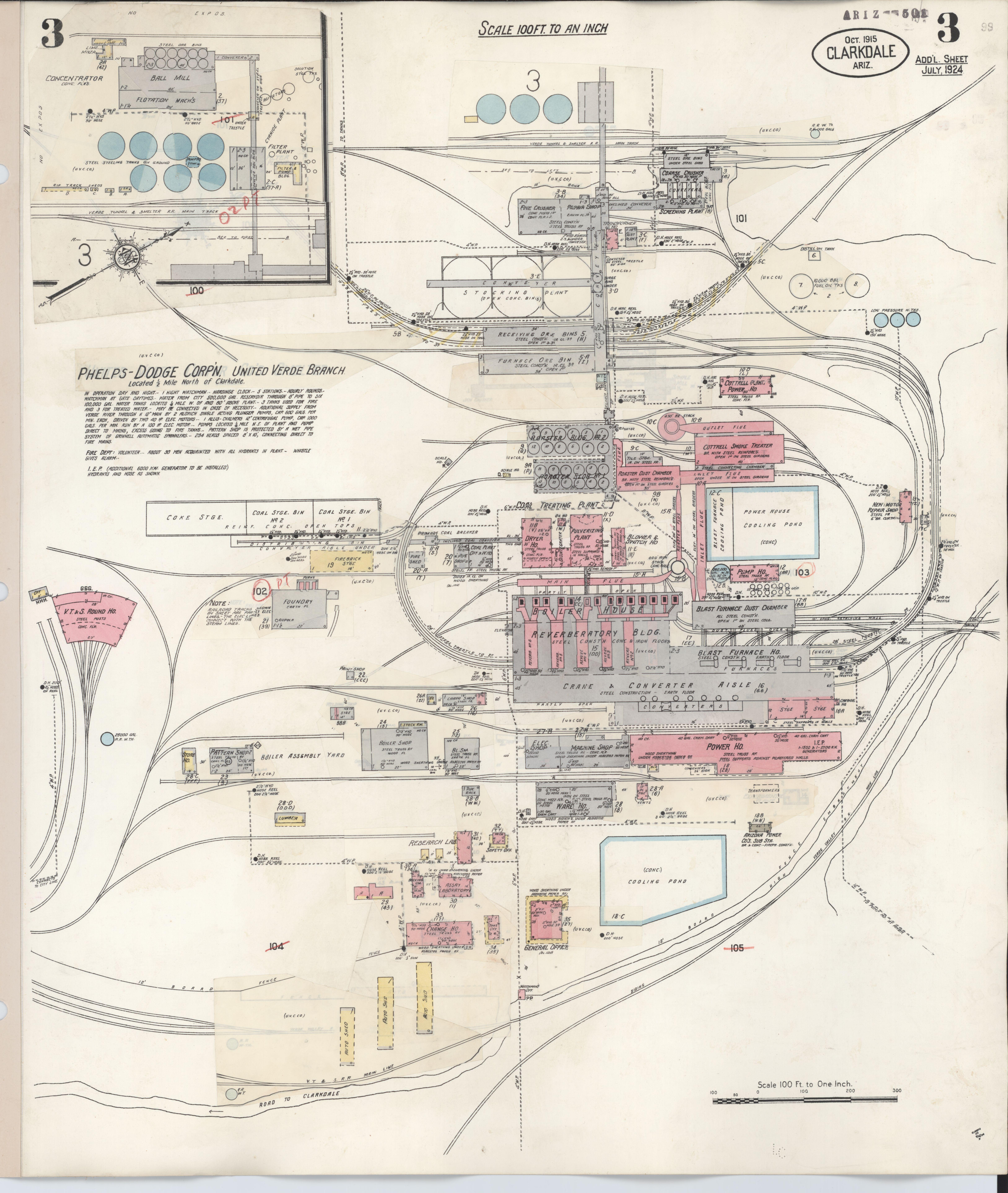 File:Sanborn Fire Insurance Map from Clarkdale, Yavapai