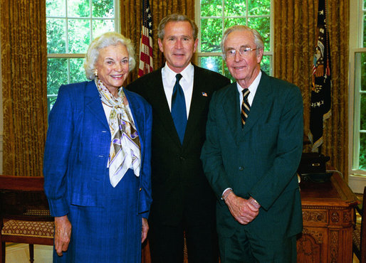 sandra day o'connor, george w. bush, bush v. gore, supreme court