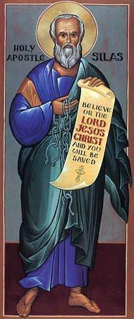 Silas, Begleiter des Apostel Paulus