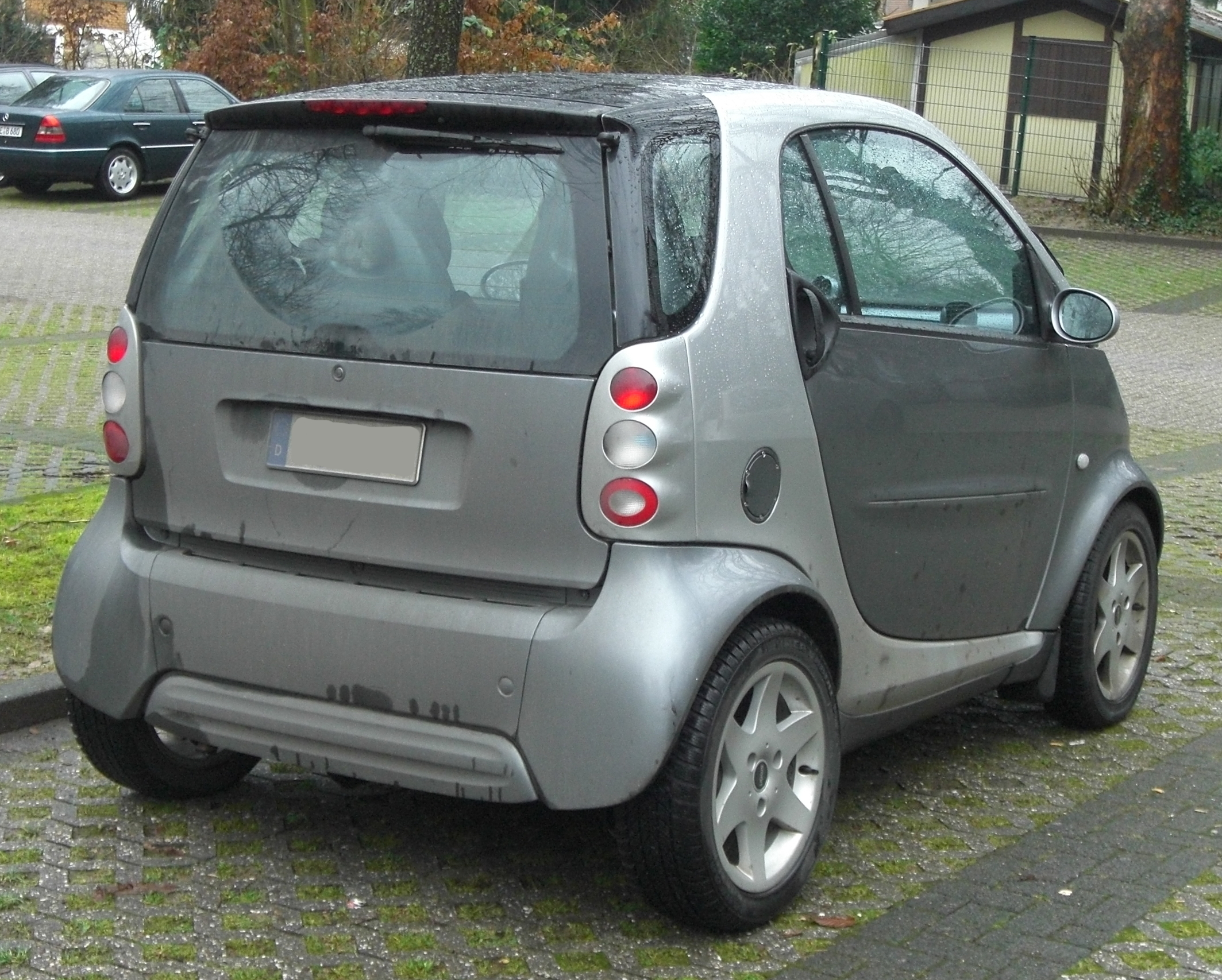 File Smart Fortwo I Coupé 1998 2003 Rear Mj Jpg