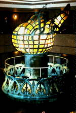 La torche originale, remplacée en 1986.
