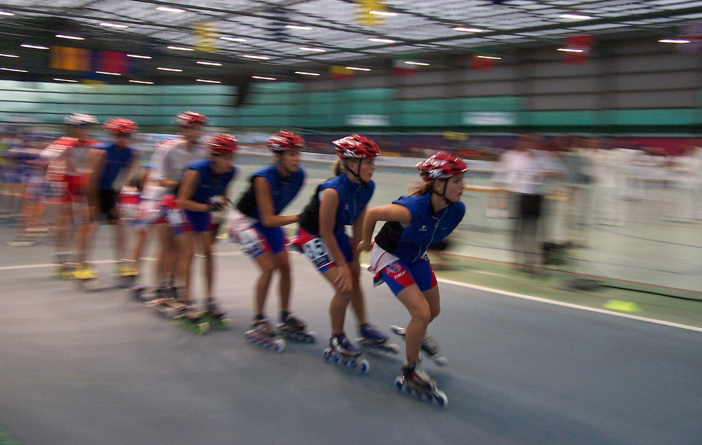Inline speed skating - Wikipedia, the free encyclopedia
