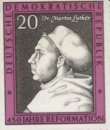 Почтовая марка ГДР