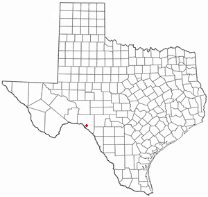 Location of Comstock, Texas