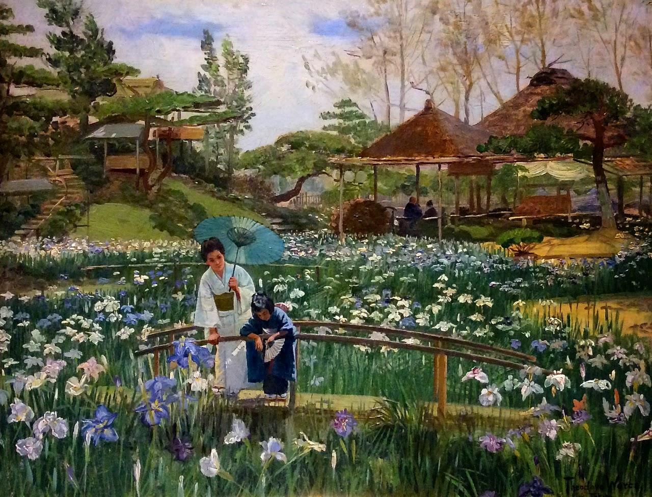 Filethe Iris Flowers Of Hori Kiri Tokio By Theodore Woresg
