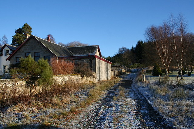 The former Braemoray Public house by the Dava Way - geograph.org.uk - 1097724