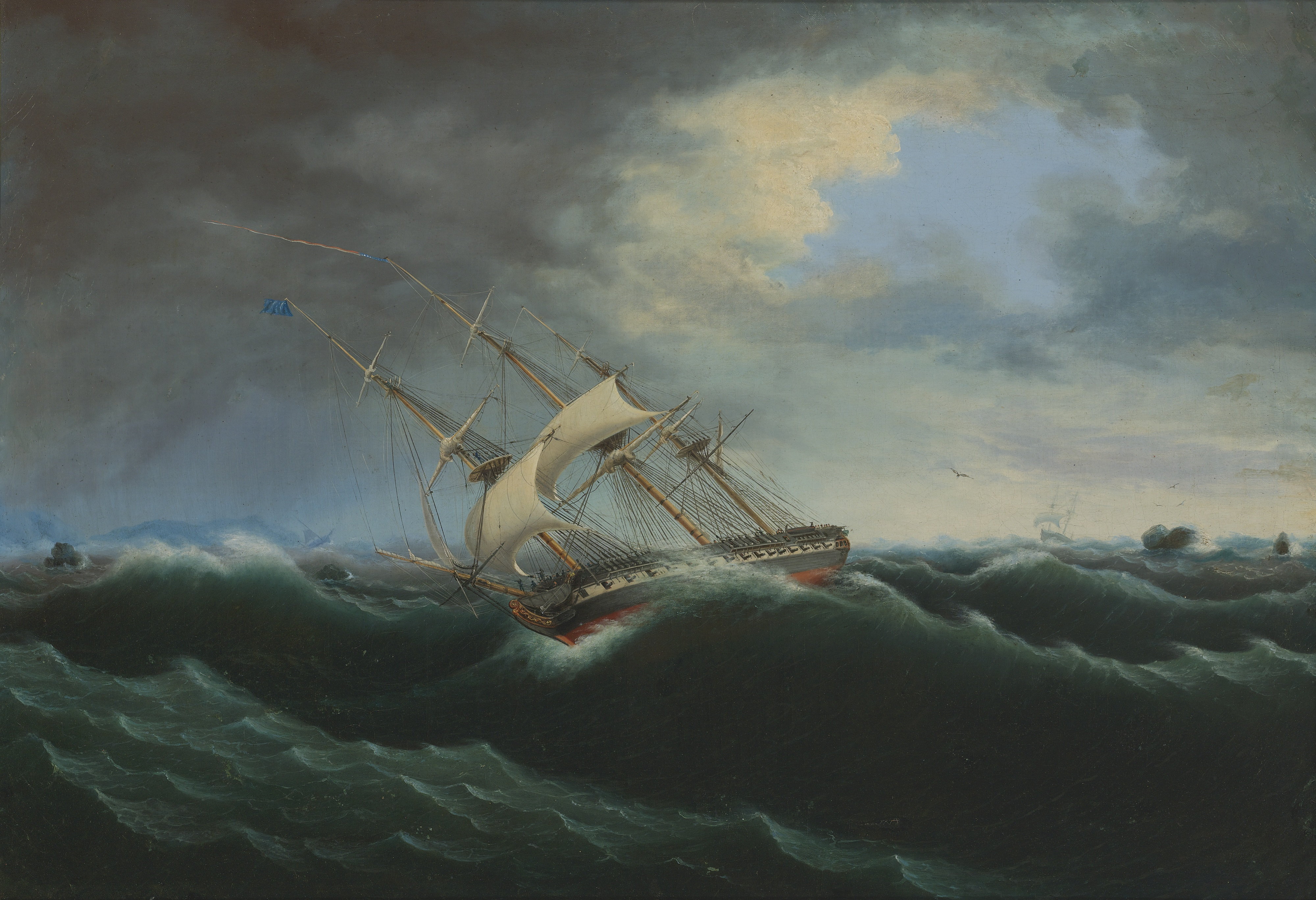analysis of thomas birchs painting an american English examples for thomas birch - he served for one term and was succeeded in 1868 by thomas birch he was the father of thomas birch, american portrait and marine painter.