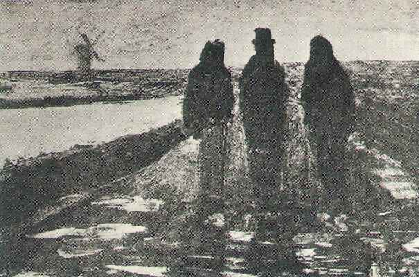 Three Figures Near A Canal With Windmill Wikipedia