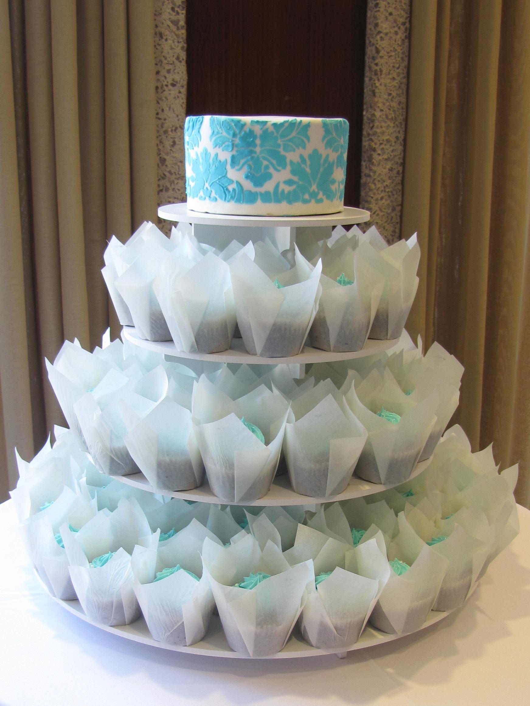 Creative Buttercream Wedding Cakes