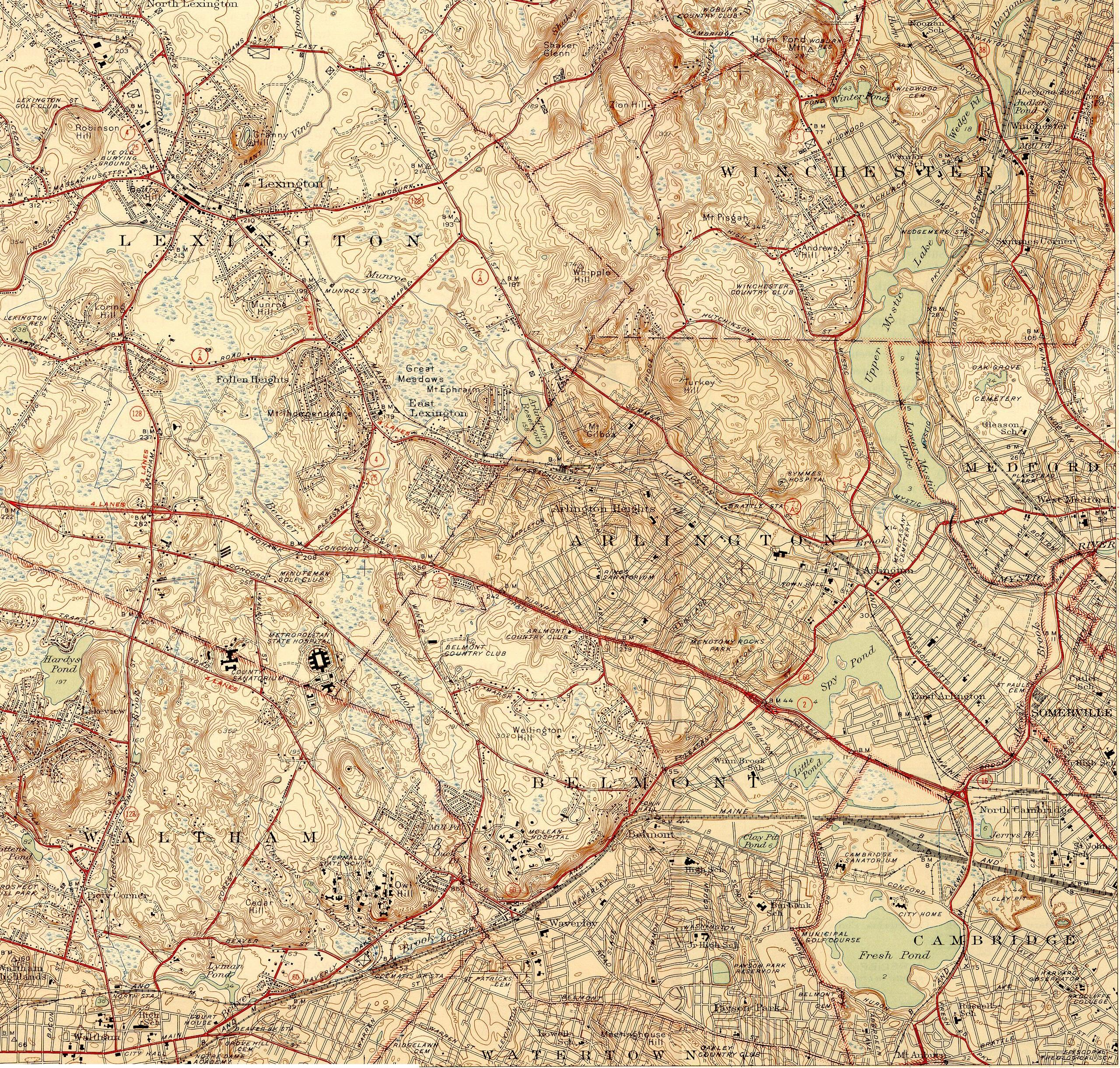 Historic Topographic Maps on