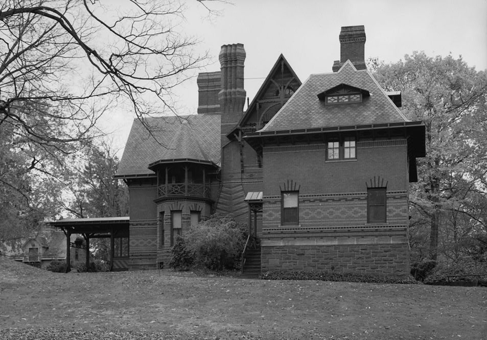 N Elevation Of Home : File twain house north elevation habs conn harf