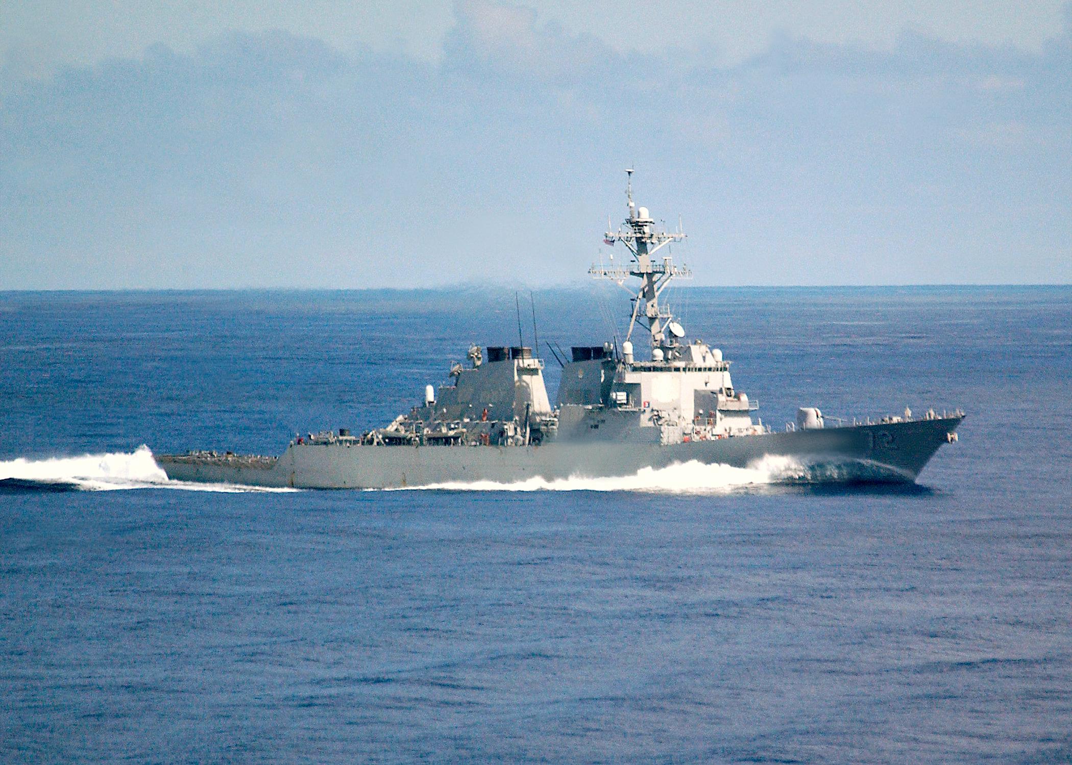 Exercise Mediterranean Shark 01' & 02' USSMahanDDG-72