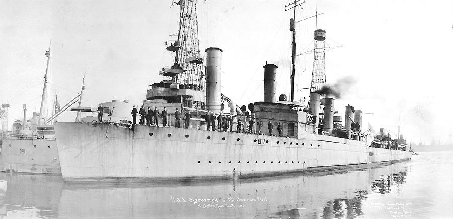 USS Sigourney (DD-81)