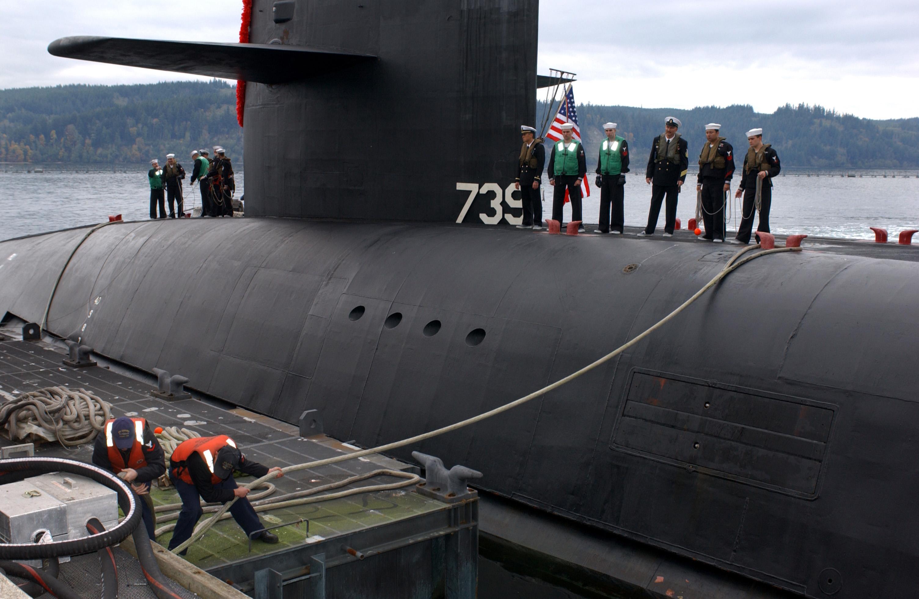 трагедия американской подводной лодки