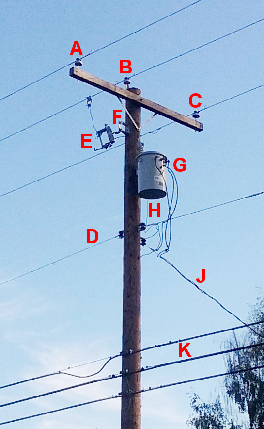 Us Utility Pole Labeled on 2 Pole Light Switch Wiring Diagram