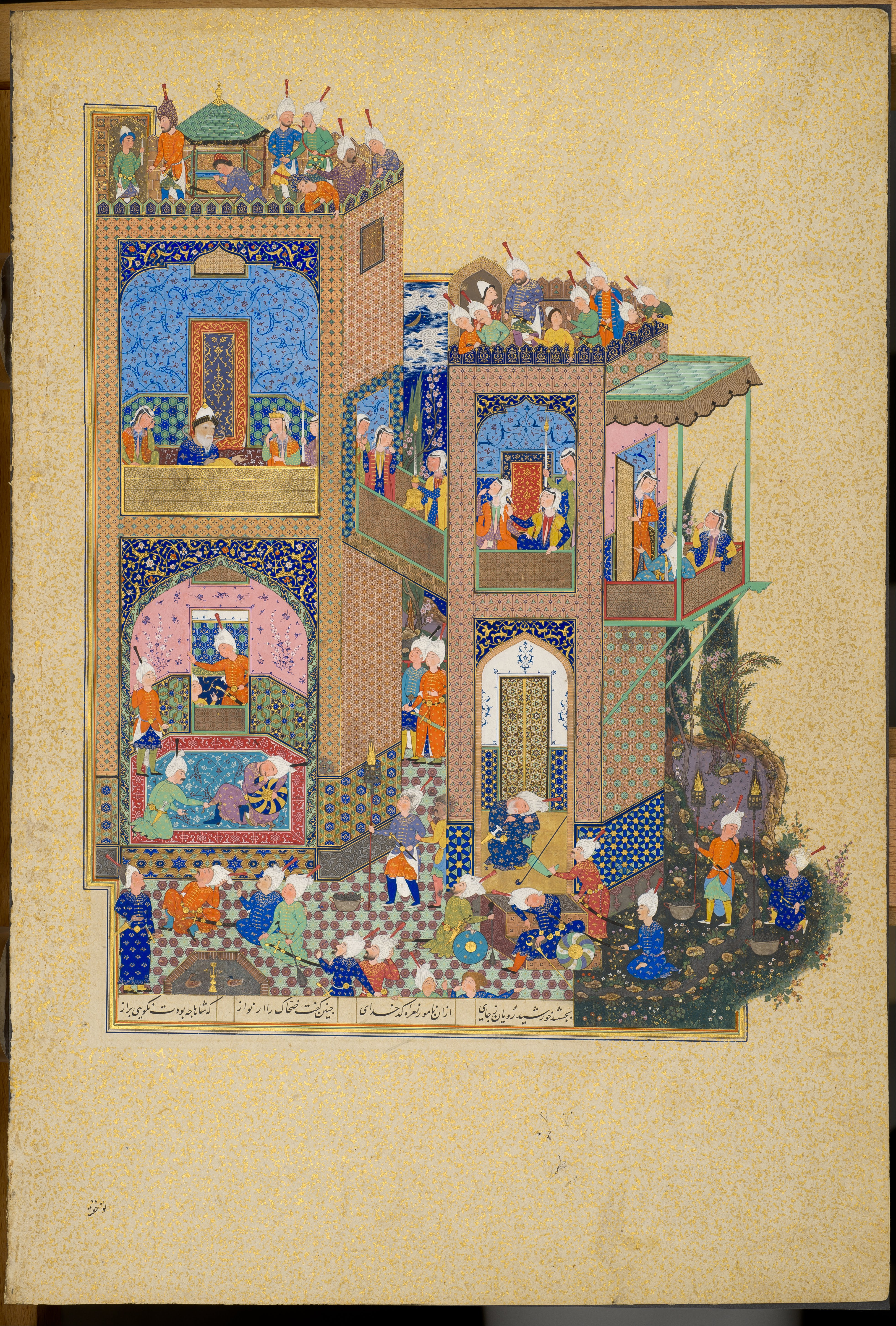 File Unknown Iran 16th Century Page From The Shahnama