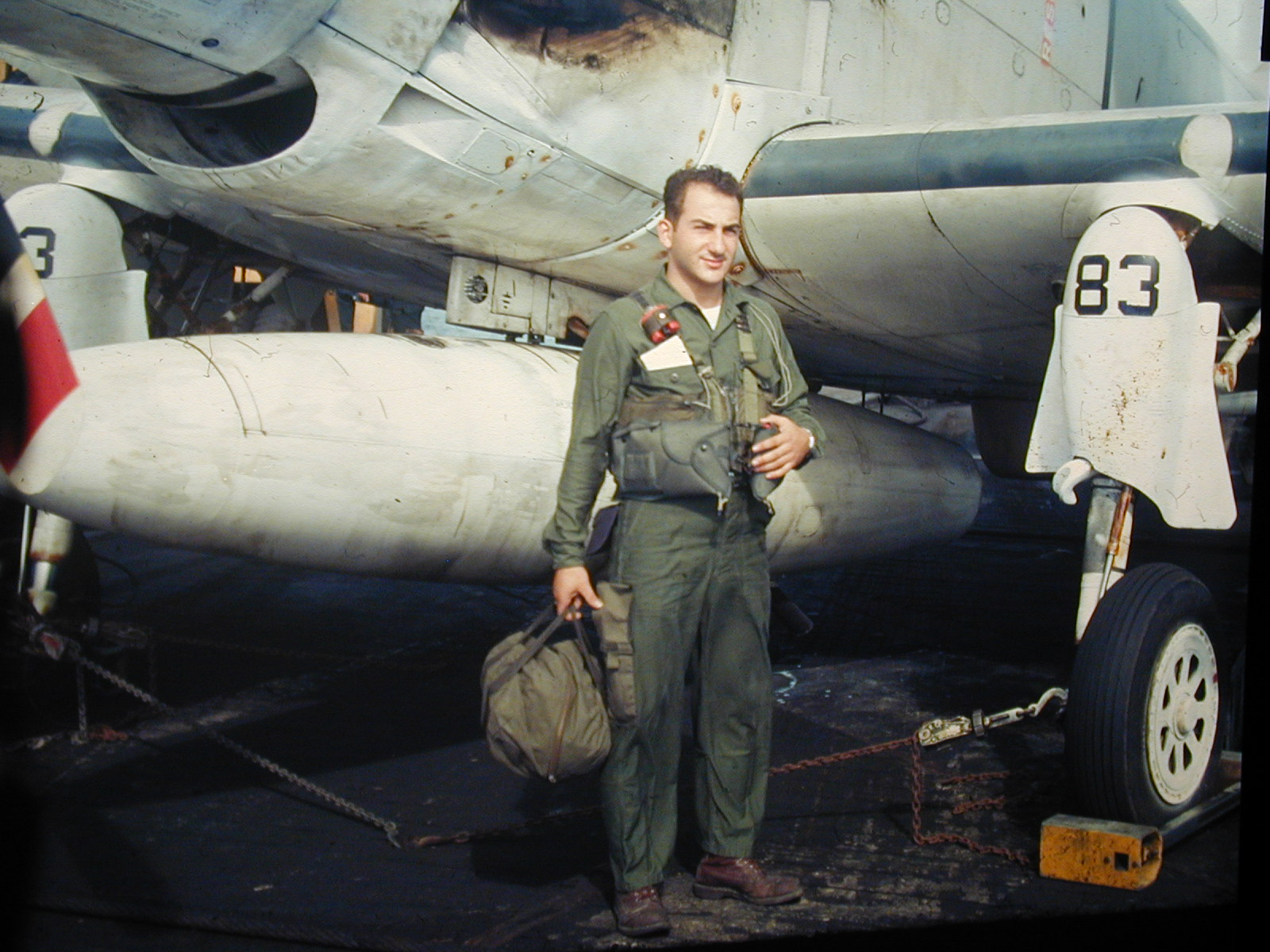 VAW-33_aircrew_with_EA-1F_Skyraider_on_U