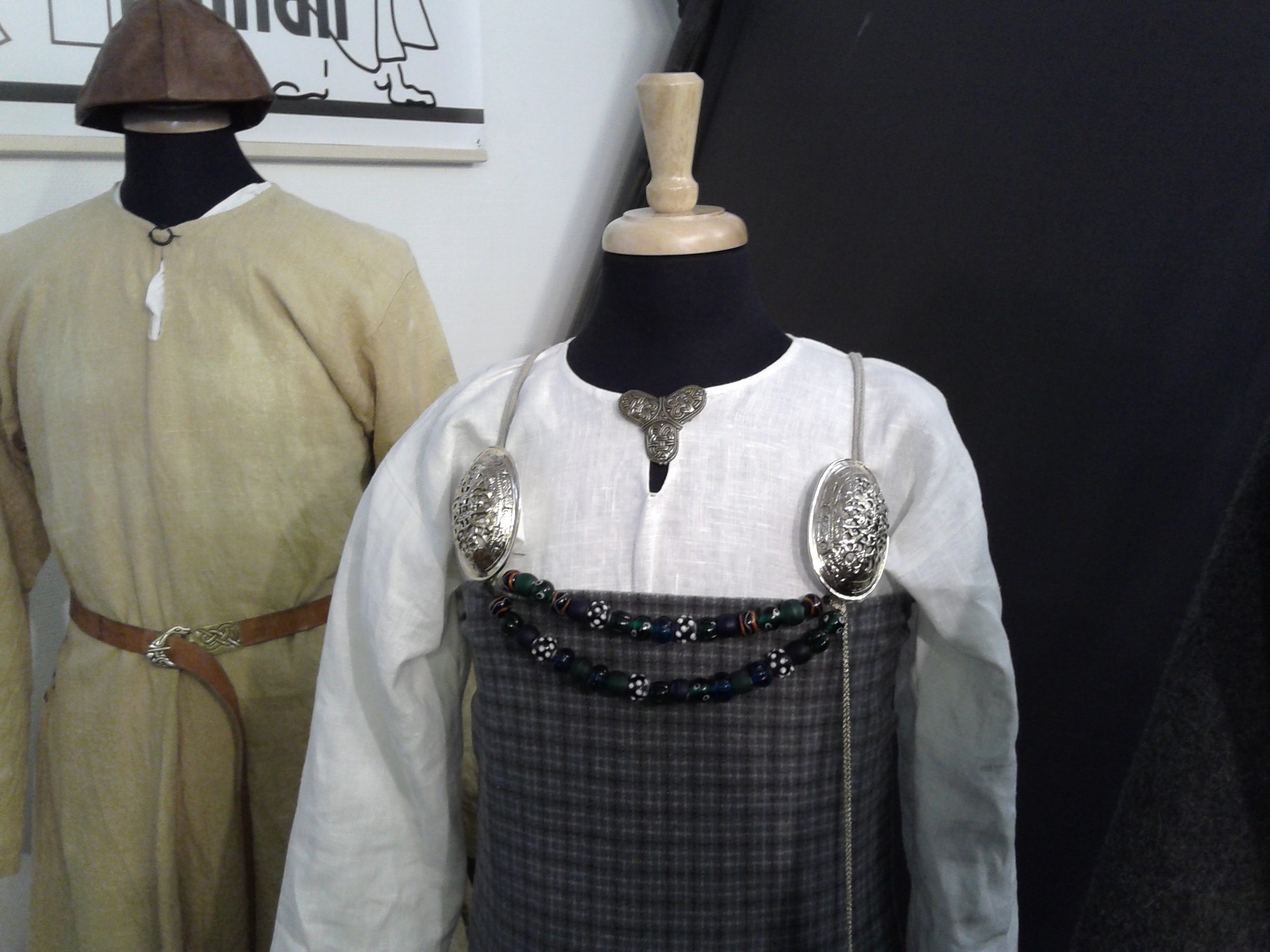 file viking age clothes replicas from sweden 2 jpg